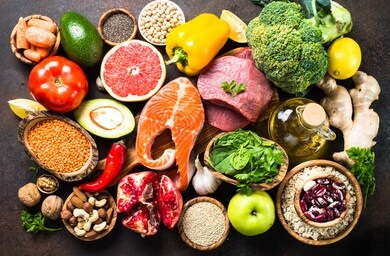 balance diet for weight loss