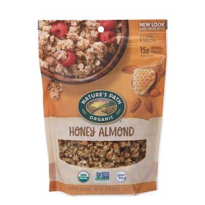 Assorted granola with chia seeds