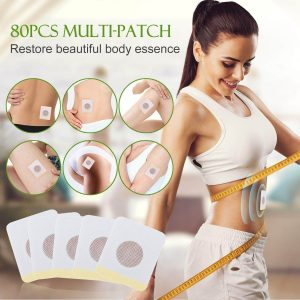 Slimming adhesive patches