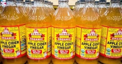 Apple Cider Vinegar For a Flat Stomach